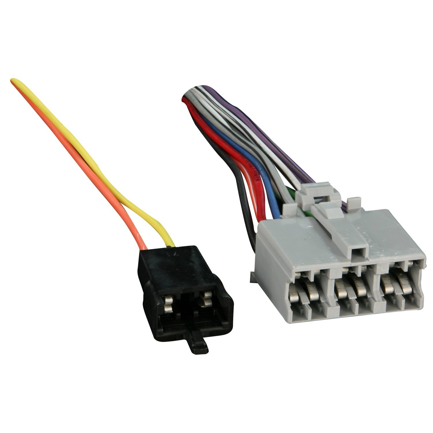Reverse Wiring Harness Schematic Diagram Metra Mercedes 7116771 1973 1993 Gm Vehicles With 12 71