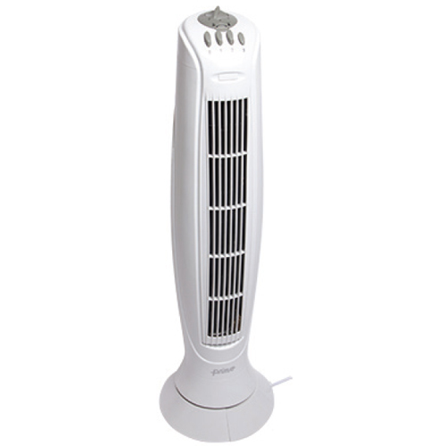 "Best Home 34"" Tower Fan with 3 Speeds and Timer"
