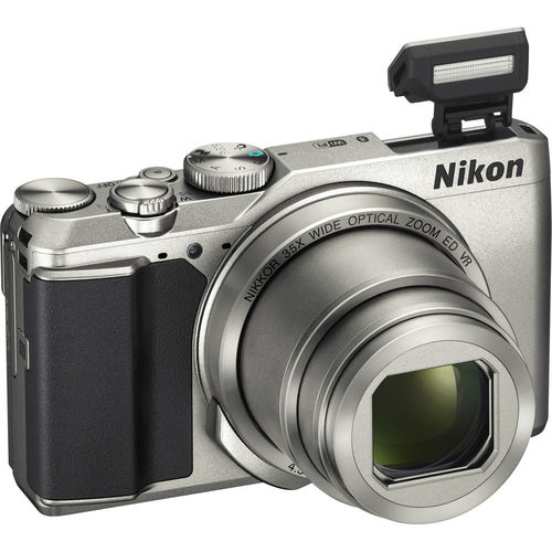 Nikon COOLPIX A900 Digital Camera / 20MP / 35x Optical Zoom - Silver