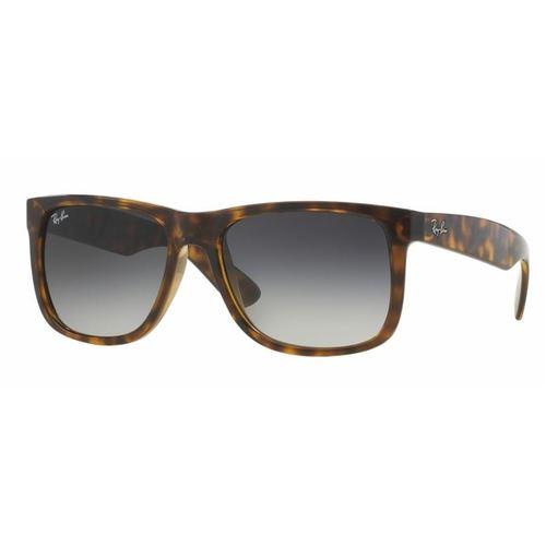 Ray-Ban RB4165 Justin Sunglasses - Shiny Havana / Grey Gradient Dark Grey