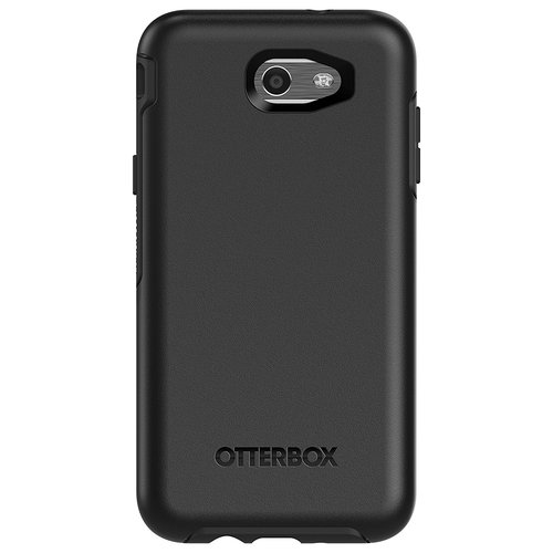OtterBox Samsung Galaxy J7 Symmetry Series Clear Confidence Case - Black