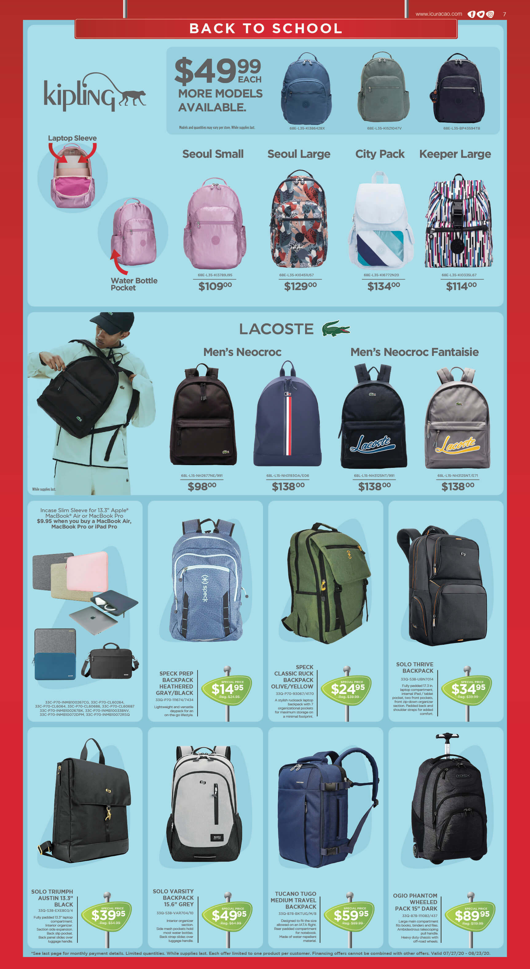 Curacao | Back to School Catalog | Page 7