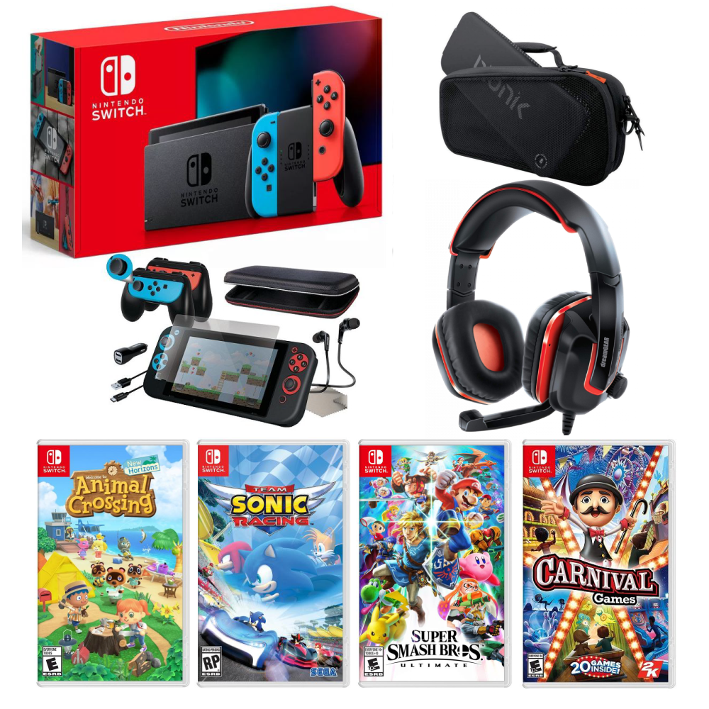 Nintendo Switch Bundle Console Nintendo Switch Gaming