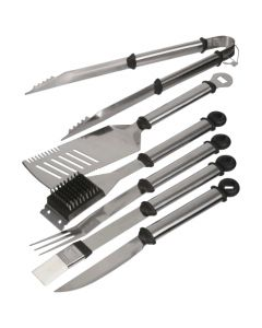 Mr. Bar-B-Q Original Gourmet Stainless Steel Tool Set 18 pc Pack