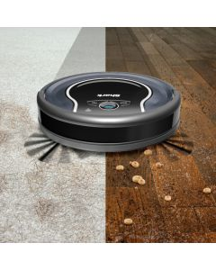 Shark ION App-Controlled Robot Vacuum - Black/Navy Blue
