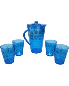 Water Jar with 4 Cups