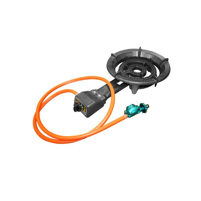 Alpine Cusine Propane Burner with Regulator and Hose