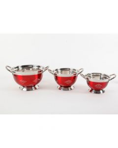 Oster Metaline 3 Pack Round Asian Colander