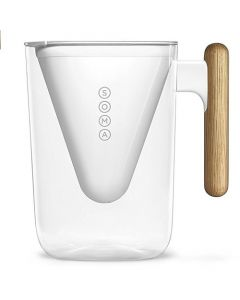 Soma 6-Cup Water Filter Pitcher - White