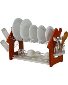 Two Tier House Shape Dish Rack