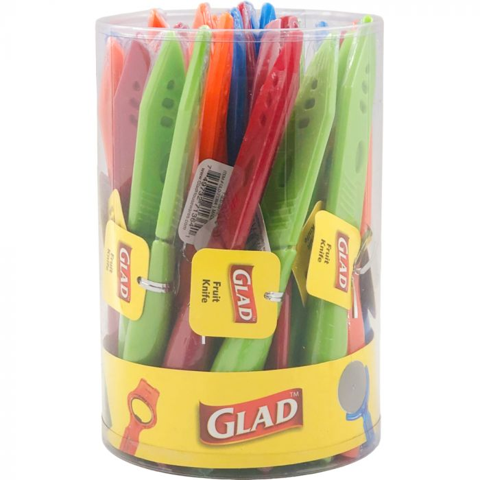 Glad Fruit Knife Assorted Color in Tub