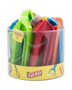 Glad Garlic Press Assorted Color in Tub