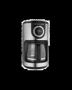 KitchenAid KCM1202OB 12 Cup Glass Carafe Coffee Maker - Black