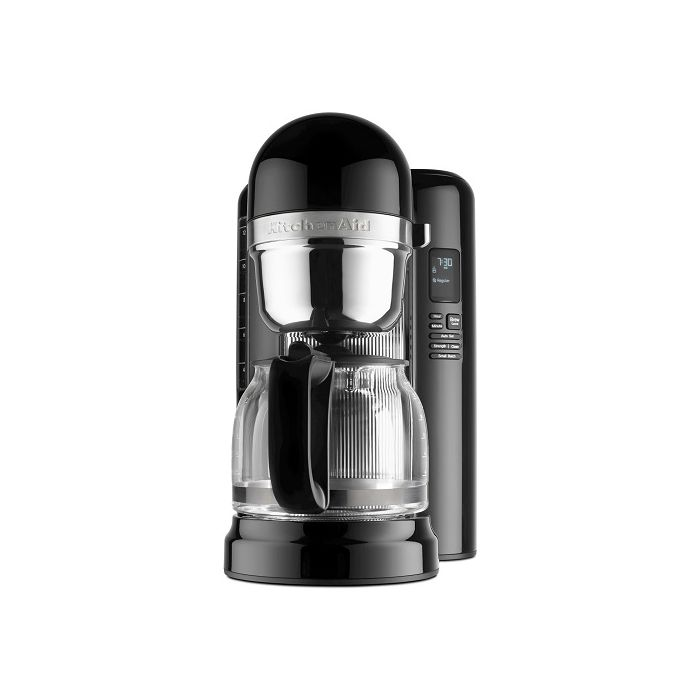 KitchenAid KCM1204OB 12 Cup Coffee Maker With One Touch Brewing - Onyx Black
