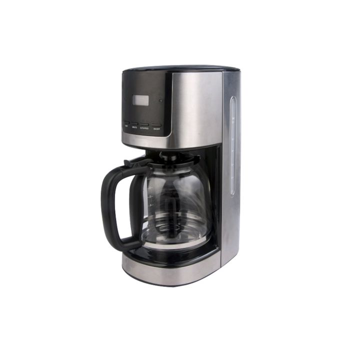 Besth Home Coffee Maker 8 Cups - Black Stainless steel