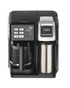 Hamilton Beach 49976 FlexBrew 2-Way 12-Cup Combo Coffee Maker - Black