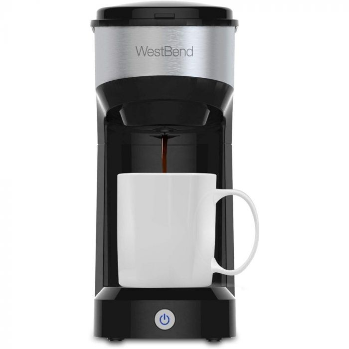 West Bend Single Serve Quick Brew Coffee Maker - Black