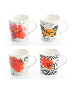 Wild Floral 17 oz. Assorted Designs Cup
