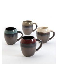 Gibson Home Soroca 19.5 oz Mug Assorted Colors