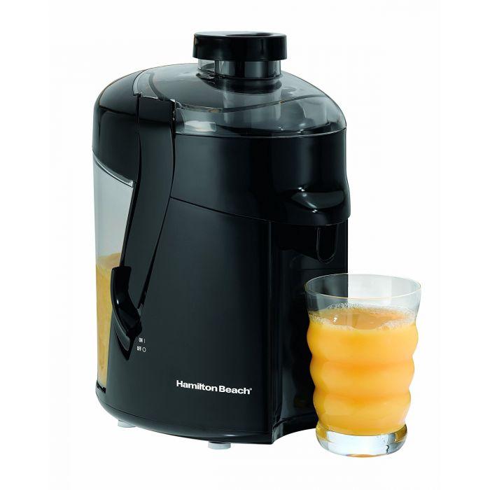 Hamilton Beach HealthSmart 400 Watt Juice Extractor - Black