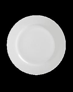 """Gibson 10.5"""" Dinner Plate White"""