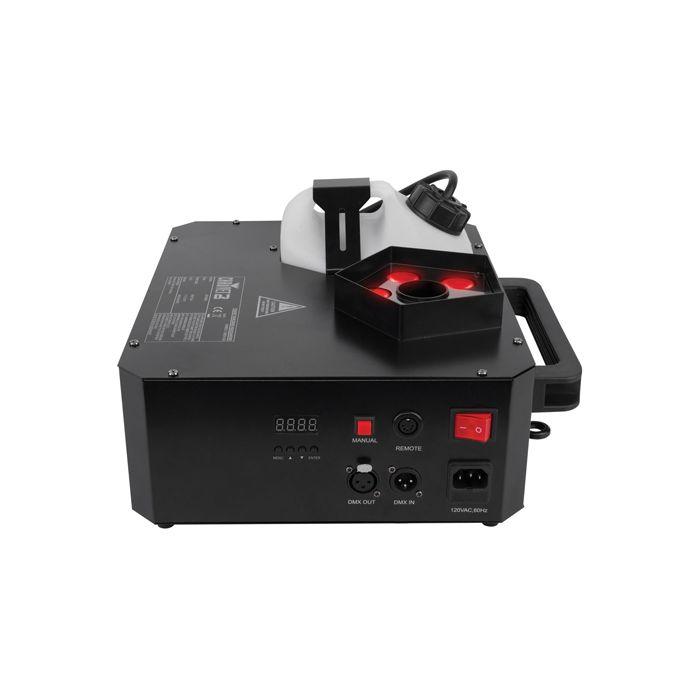 Chauvet DJ Geyser P5 Penta-Colored (RGBA+UV) LED Pyrotechnic-Like Effect Fog Machine