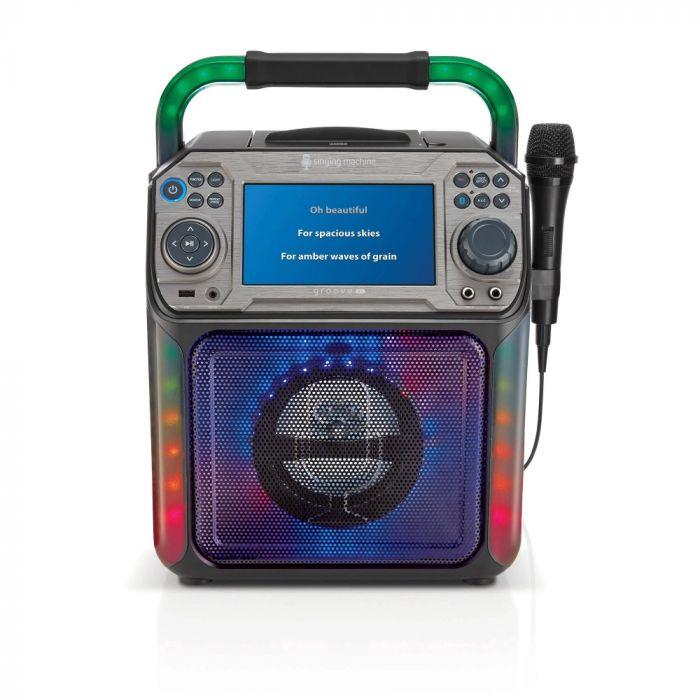 Singing Machine Groove Cube Xl - Black