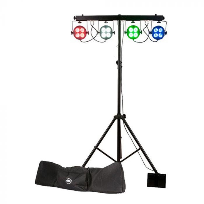 ADJ Starbar Wash Rgba Par Led Lighting System W/Stand