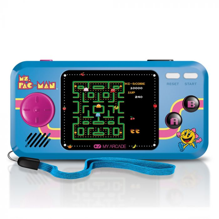 My Arcade Ms.Pac-Man Pocket Player Portable Gaming System