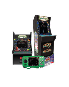 My Arcade Bundle: Cabinet + Pocket Player Portable + Galaga Micro Player
