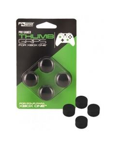 KMD Xbox One 4 Pack Pro Gamer Thumb Grips - Black