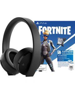 Sony PlayStation 4 Fortnite Neo Versa Wireless Headset Bundle - Black