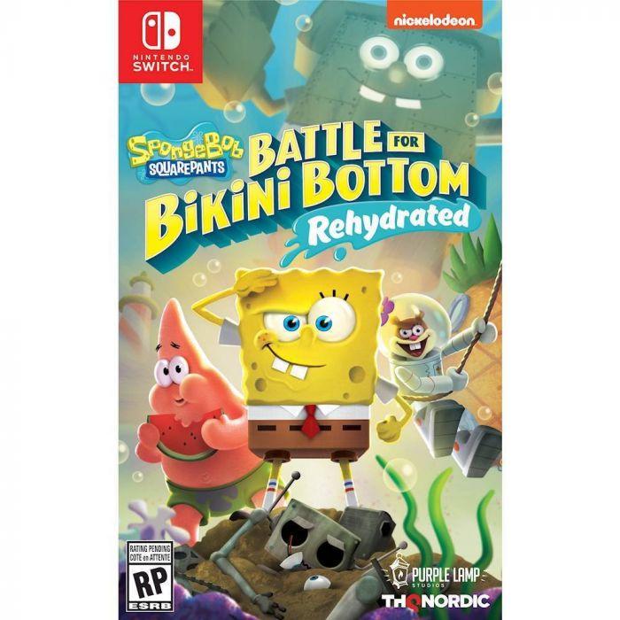 SpongeBob SquarePants: Battle for Bikini Bottom Rehydrated - Nintendo Switch