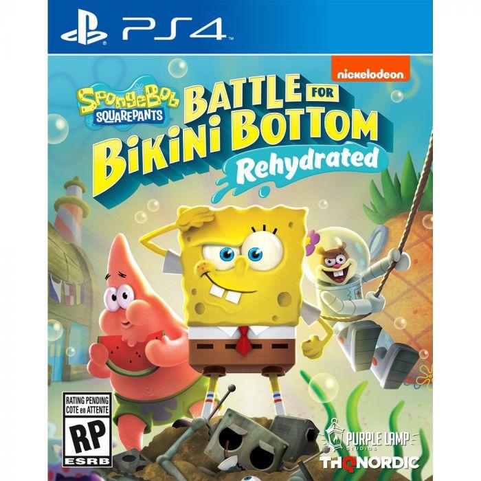 SpongeBob SquarePants: Battle for Bikini Bottom /Rehydrated - PlayStation 4