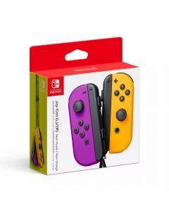Nintendo Joy-Con Controllers - Neon Purple/Neon Orange