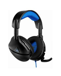 Turtle Beach PlayStation 4 Stealth 300 Wired Amplified Stereo Gaming Headset - Black/Blue