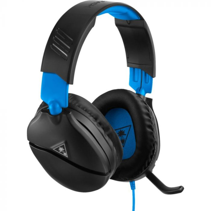 Turtle Beach Recon 70 Wired Stereo Gaming Headset for PlayStation 4- Black/Blue