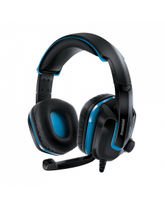 DreamGEAR PlayStation 4 Wired Headset - Black & Blue