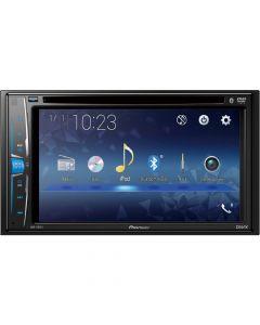 """Pioneer AVH/221EX 6.2"""" /Built-in Bluetooth /In-Dash CD/DVD/DM Receiver - Black"""