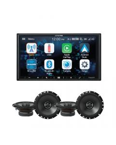 Alpine Bundle: Alpine Car Speakers +  Android Auto/Apple CarPlay
