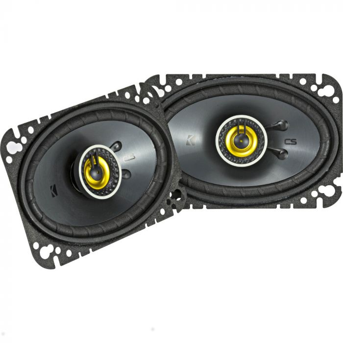 "Kicker 46CSC464 CS-Series 4x6"" 2-Way Coaxial Speakers"