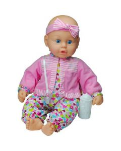 Goldberger Baby's First Unbelievably Soft Doll - Pink Outfit