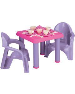 American Plastic Toys 28 Piece Tea Party Set