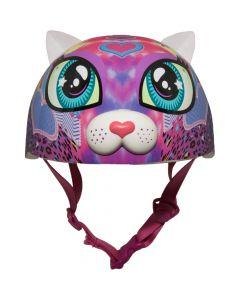 Raskullz Peace Love Kitty Bike Helmet