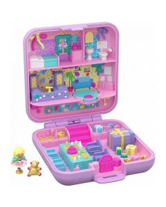 Mattel Polly Pocket 30th Anniversary Partytime Surprise Keepsake Compact