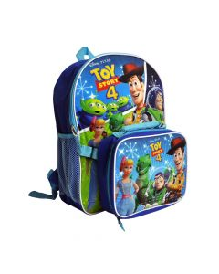 """Toy Story 4 16"""" Backpack With Lunch Box"""