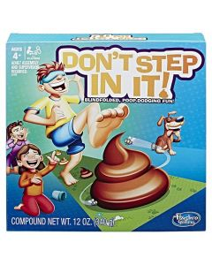Hasbro Don't Step In It Board Games
