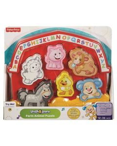 Fisher-Price Laugh And Learn Farm Animal Puzzle Assortment