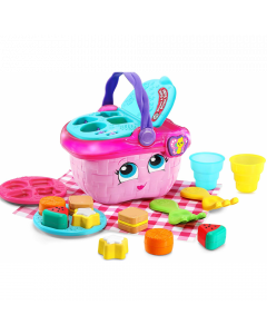 Shapes & Sharing Picnic Basket - Pink