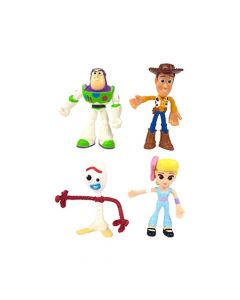 Toy Story 4 Bendy Figures Small 4 Piece Pack